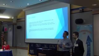 2017 Thirteenth Annual Pace Pitch Contest-GuideU-Andrew Morales and Nikita Ptchelka