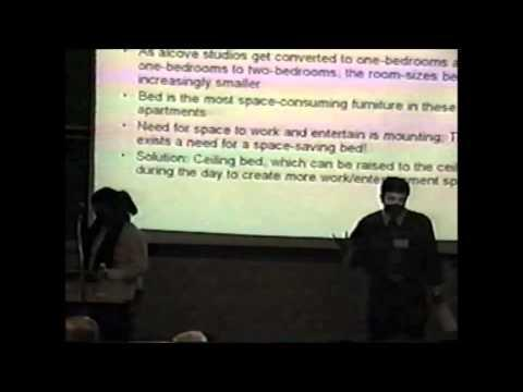 2004 Inaugural Pace Pitch Contest - The Ceiling Bed - Noushi Rahman