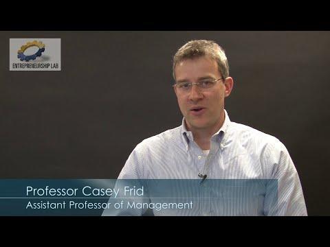 Nascent Entrepreneurs - Professor Casey Frid