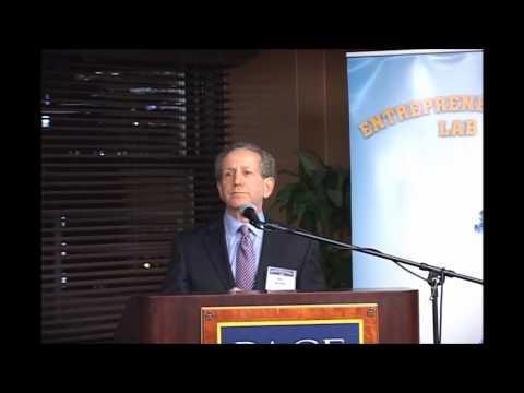 Entrepreneurship Lab Opening Ceremony - Dean Neil Braun