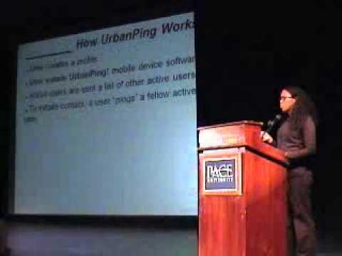 2008 Fifth Annual Pace Pitch Contest - Urban Ping - Teresa Nicole Brooks