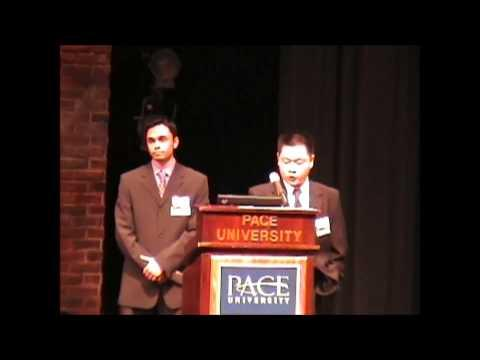 2005 Second Annual Pace Pitch Contest - C&M LLC - Peter Cao And Chandram Mookim
