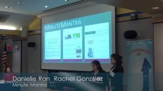 2017 Thirteenth Annual Pace Pitch Contest-Minute Mantra-Danielle Ran and Rachel Gonzales