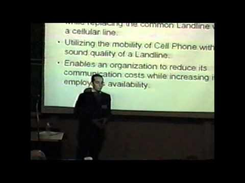 2004 Inaugural Pace Pitch Contest - Cellular PBX - Roy Gilis