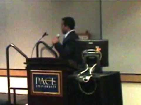 2009 Sixth Annual Pace Business Plan Competition - Student Globe Zoom - Rohit Phadtare