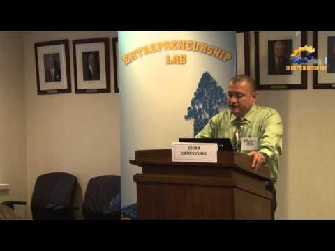2014 Veterans Entrepreneurship Boot Camp - Edgar Campoverde