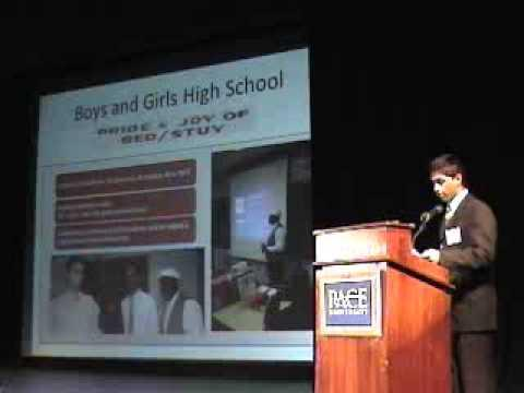 2008 Fifth Annual Pace Pitch Contest - Give - Neel Patel