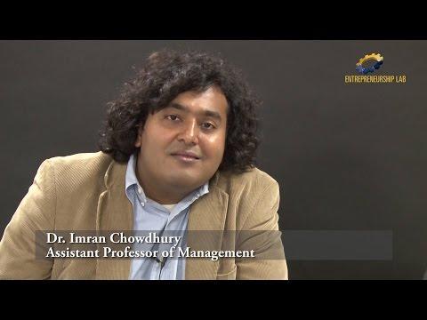Advice To Aspiring Social Entrepreneurs - Dr. Imran Chowdhury - 3 Of 3