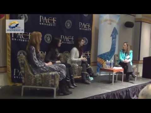 Pace Women Entrepreneurs Roundtable - Panelists Lean In