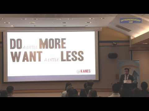10th Annual Pace Pitch Contest - Keynote Address By Kane Sarhan
