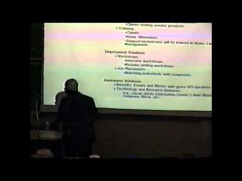 2004 Inaugural Pace Pitch Contest - Multiform Solutions Inc. (MSI) - Dwayne Sykes