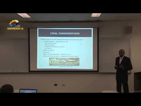 Legal Considerations For A Start-Up - Some Initial Decisions