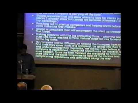 2004 Inaugural Pace Pitch Contest - Ronen Oren