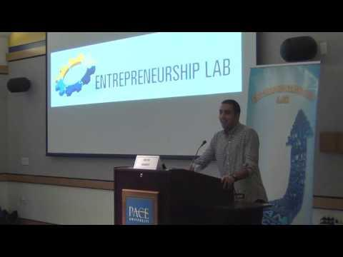 2016 Twelfth Annual Pace Pitch Contest - Keynote Address By David Arabov (2 Of 10)