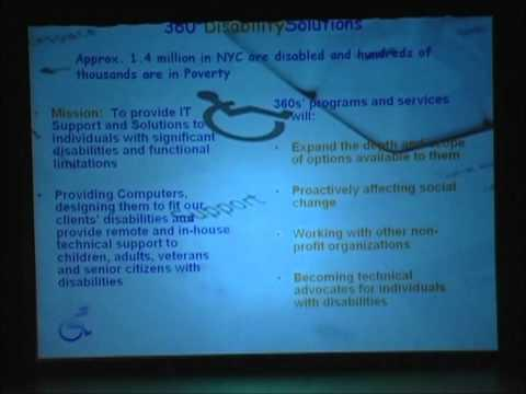 2006 Third Annual Pace Pitch Contest - 360º Disability Solutions - Dwayne Sykes