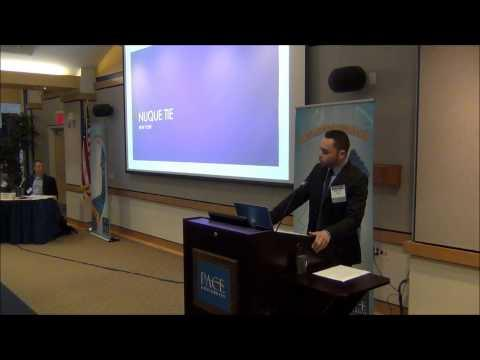 2013 Ninth Annual Pace Pitch Contest - Nuque Tie New York - Christian Velez