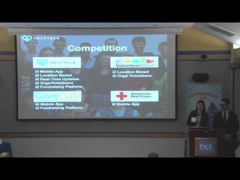 2016 Twelfth Annual Pace Pitch Contest - Pitch 3 Helpteer - Ian Carvalho And Alexa McKenna (6 Of 10)