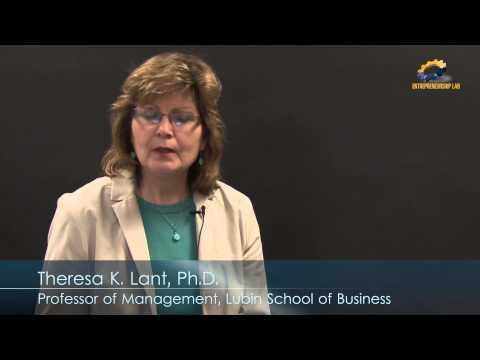 Entrepreneurial Cognition - Professor Theresa K. Lant
