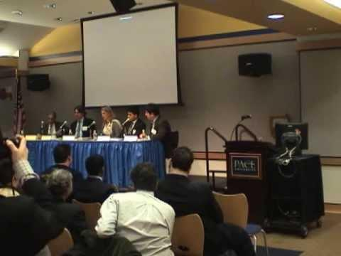 2009 Sixth Annual Pace Business Plan Competition - Panel Discussion