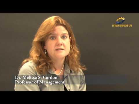 Dimensions Of Entrepreneurial Passion - Dr Melissa Cardon - 3 Of 3