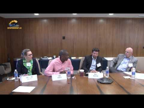 Veterans Entrepreneurship Boot Camp - Summer 2015 - Panel Introductions