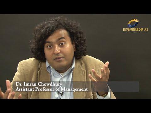 Social Entrepreneurship - Dr. Imran Chowdhury - 1 Of 3